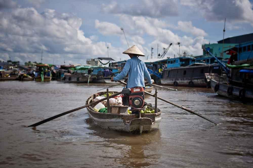 Famille BLAIN – Vietnam et Cambodge en suivant le Mékong – Janvier 2013 (10 jours)