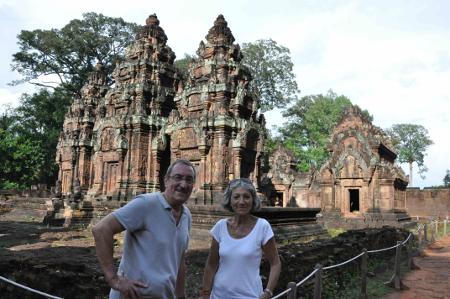 Eliane et André – Voyage au Cambodge (10 jours)