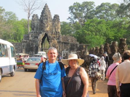 Mario et Lucille – Découverte du Cambodge – Mars 2013 (14 jours)