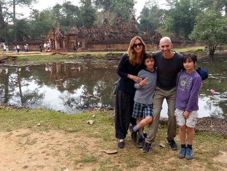 Famille MARMIER – Découverte du Cambodge (10 jours)